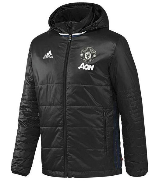Čierna P 225 Nska Zimn 225 Bunda Pad Jkt Black Manchester United