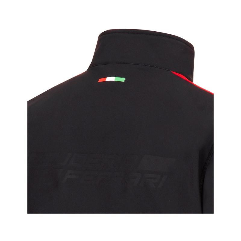 Ferrari pánska bunda Softshell SF black F1 Team 2016 - FAN-store.sk 22937149d52