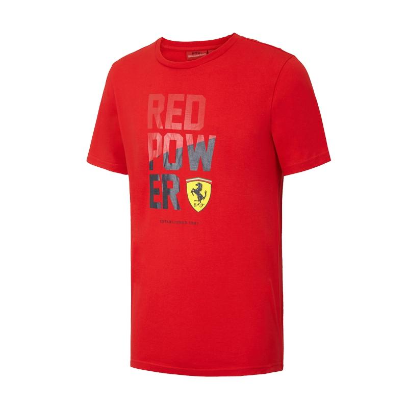 fb761bdf39d Ferrari pánske tričko Red Power red F1 Team 2016 - FAN-store.sk