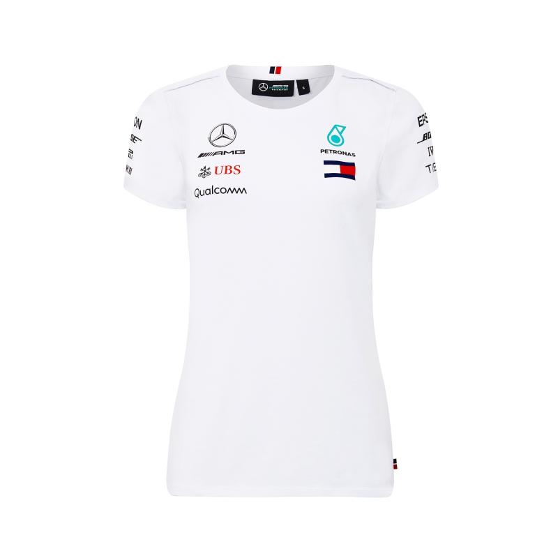 e732d4e406fc Mercedes AMG Petronas dámske tričko white F1 Team 2018 - FAN-store.sk