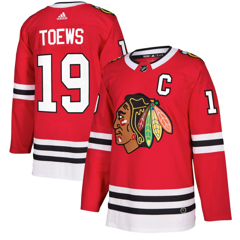 467516af76d34 Chicago Blackhawks hokejový dres #19 Jonathan Toews adizero Home Authentic  Player Pro - FAN-store.sk