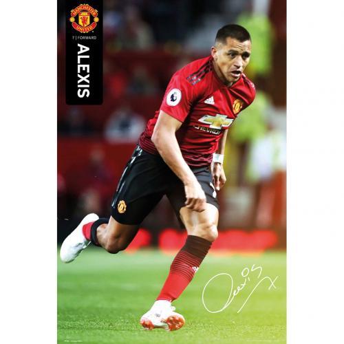 a357f62372b3a Manchester United plagát Alexis Sanchez 55 - FAN-store.sk