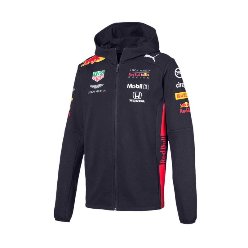 72104c4841 Red Bull Racing pánska mikina s kapucňou navy Team 2019 - FAN-store.sk