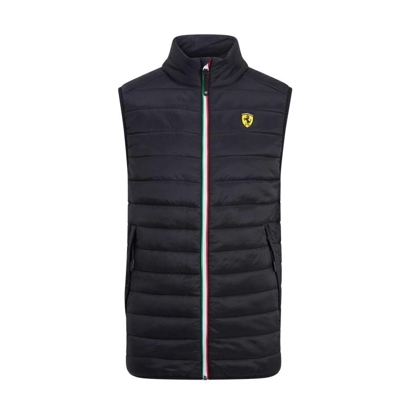 e164c3a3ab Ferrari pánska vesta black Padded F1 Team 2019 - FAN-store.sk