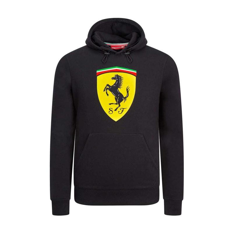 1e8b90f0c2 Ferrari pánska mikina s kapucňou black Logo F1 Team 2019 - FAN-store.sk