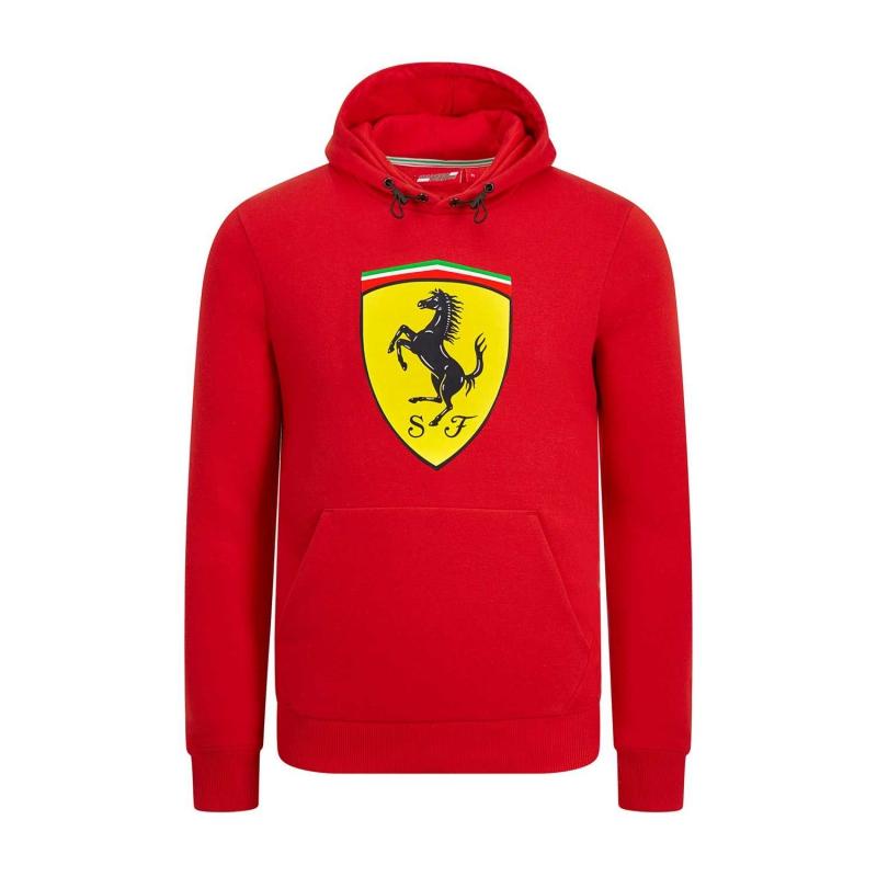 d02aa493aa Ferrari pánska mikina s kapucňou red Logo F1 Team 2019 - FAN-store.sk