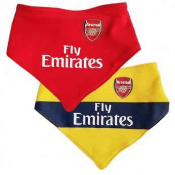 FC Arsenal detský podbradník 2 Pack Bibs YL