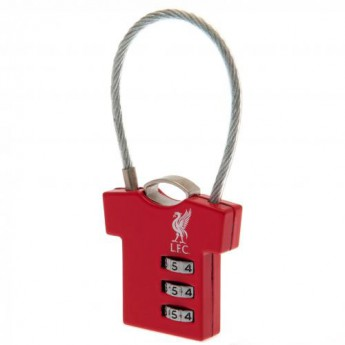 FC Liverpool zámok Combination 3 wheel mechanism