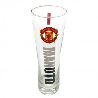 Manchester United poháre Tall Beer Glass