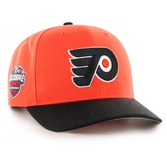 Philadelphia Flyers čiapka baseballová šiltovka 47 Brand Captain Sure Shot MVP DP NHL orange GS19
