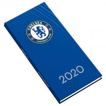 FC Chelsea vreckový diár 2020