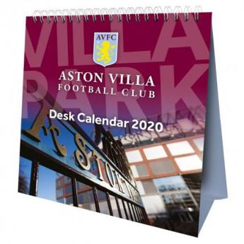 Aston Villa stolový kalendár 2020