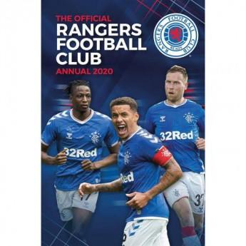 FC Rangers kniha ročenka Annual 2020