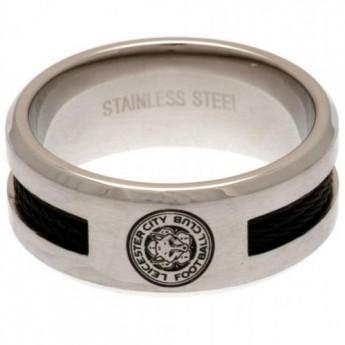 Leicester City prsteň Black Inlay Ring Medium