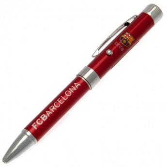 FC Barcelona guličkové pero Metal Projector Pen RD