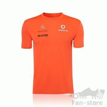 Vodafone McLaren Mercedes pánske tričko orange
