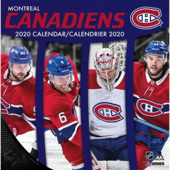 Montreal Canadiens kalendár 2020 Wall