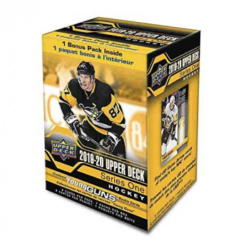 NHL boxy hokejové karty NHL Upper Deck 2019-2020 Hockey Series 1 Blaster Box