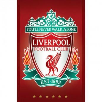 FC Liverpool plagát Poster Crest 31