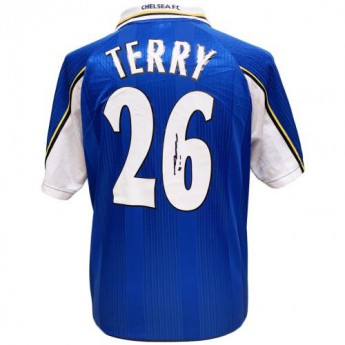 Legendy futbalový dres Chelsea FC Terry 1998 Signed Shirt