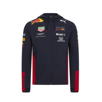Red Bull Racing pánska mikina s kapucňou hoodie navy F1 Team 2020