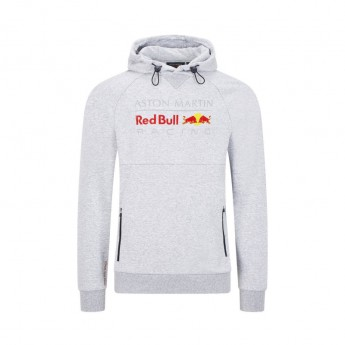Red Bull Racing pánska mikina s kapucňou pull over grey F1 Team 2020