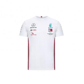 Mercedes AMG Petronas pánske tričko white F1 Team 2020