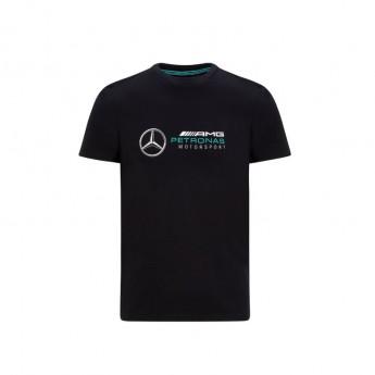 Mercedes AMG Petronas pánske tričko logo black F1 Team 2020