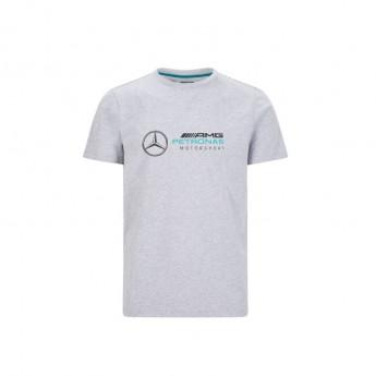 Mercedes AMG Petronas pánske tričko logo grey F1 Team 2020