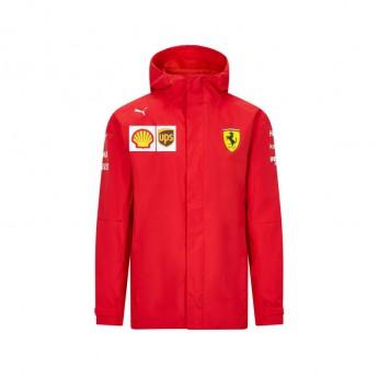 Ferrari pánska bunda s kapucňou rain red F1 Team 2020