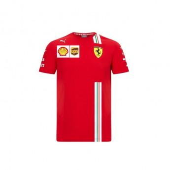 Ferrari pánske tričko Leclerc red F1 Team 2020