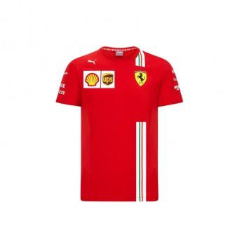 2020 Ferrari F1 Kids Team T-shirt red