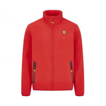 Ferrari pánska bunda logo softshell red F1 Team 2020