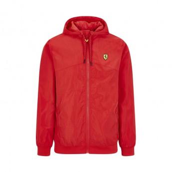 Ferrari pánska bunda s kapucňou Windbreaker red F1 Team 2020