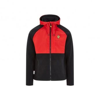 Ferrari pánska bunda s kapucňou Fleece black F1 Team 2020