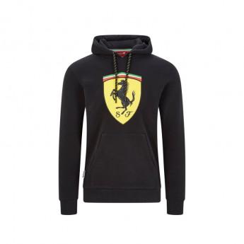 Ferrari pánska mikina s kapucňou shield black F1 Team 2020
