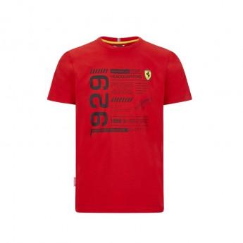 Ferrari pánske tričko infographic red F1 Team 2020