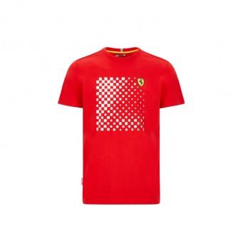 Ferrari pánske tričko checkered red F1 Team 2020