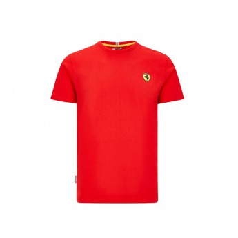 Ferrari pánske tričko small logo red F1 Team 2020