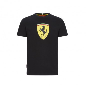 Ferrari pánske tričko large shield black F1 Team 2020