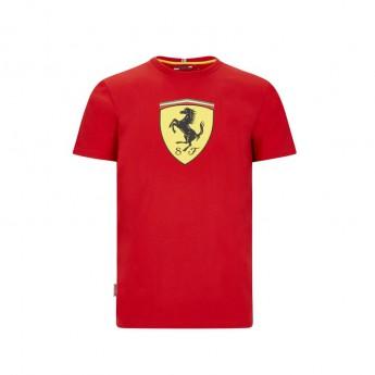 Ferrari pánske tričko large shield red F1 Team 2020