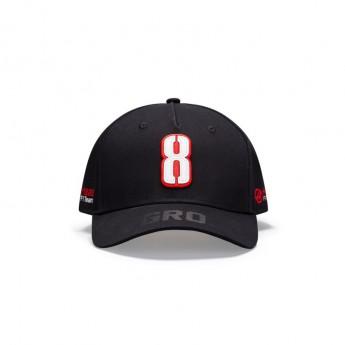 Haas F1 čiapka baseballová šiltovka Grosjean black F1 Team 2020