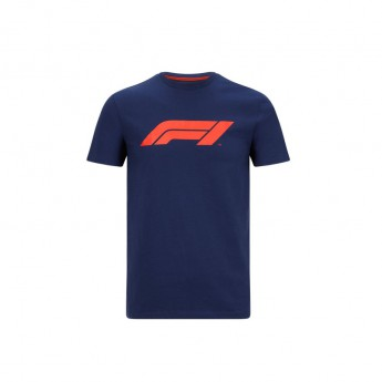 Formule 1 pánske tričko logo navy blue 2020