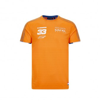Red Bull Racing pánske tričko Verstappen Sports orange F1 Team 2020