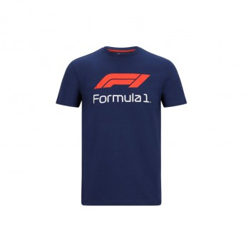Formule 1 pánske tričko No. 1 navy blue 2020