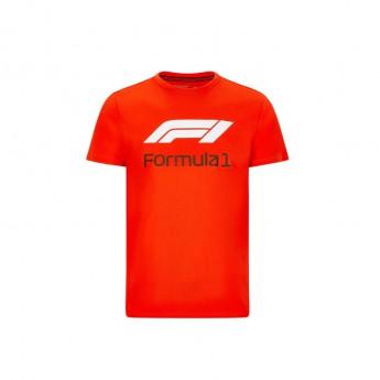 Formule 1 pánske tričko No. 1 red 2020