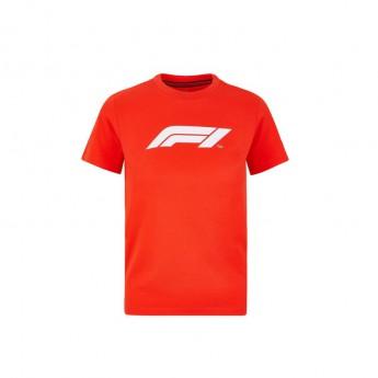 Formule 1 detské tričko logo red 2020