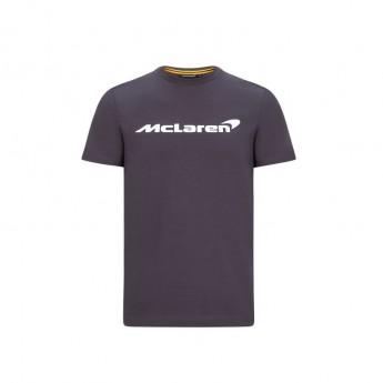 Mclaren Honda detské tričko Essentials grey antracit F1 Team 2020
