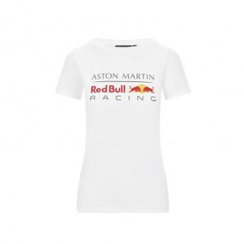 Red Bull Racing dámske tričko logo white F1 Team 2020