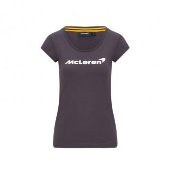 Mclaren Honda dámske tričko Essentials grey F1 Team 2020